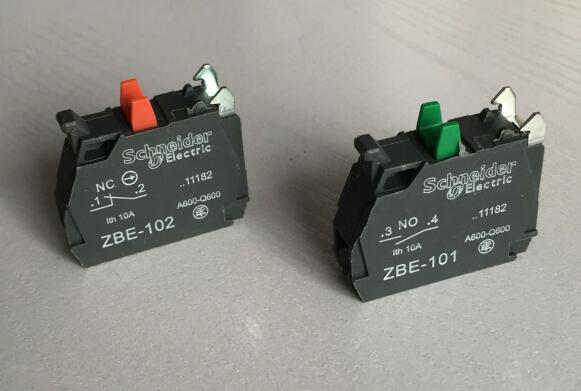 Telemecanique XB4BD33 Selector Switch WContacts ZBE-101