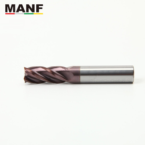 Image 2 - MANF Milling Cutters HRC55 4mm 5mm 6mm 8mm 10mm Solid Carbide EndMills Mill Cutter Carbide End Mills Milling Cutter Metall