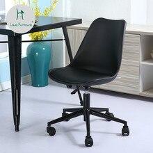 Модные компьютерные кресла в стиле Луи, скандинавские домашние маленькие офисные современные вращающиеся стулья для студентов