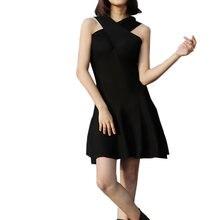 Новое черное платье в стиле стимпанк ретро с высокой талией