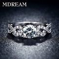 Platinum filled and engrave platinum plated ring and AAA Zircon Ring wedding for women gorgeous Luxury rings jewelry LSR099