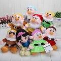"""8 шт./компл. 8 '' белоснежка принцесса и 8 """" семь гномов мягкие плюшевые игрушки куклы установить"""