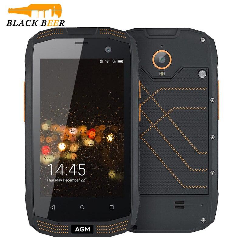 bilder für Original AGM A2 Rio 4,0 Zoll Bildschirm 4G LTE IP68 wasserdichte Handy Android Robusten Smartphone mit SOS Und NFC funktion