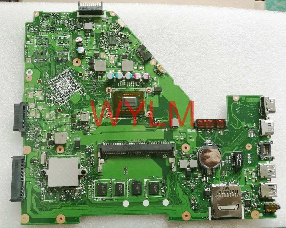 free shipping original X550CA X550CC motherboard MAIN BOARD REV 2.0 1007U 4GB RAM MEMORY 100% TESTED FULLY цена 2016