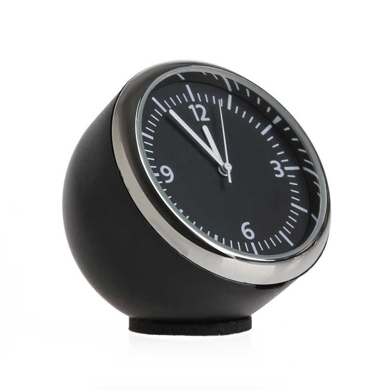 Nova 1 Pc Hot Mini Carro Auto Relógio de Ponteiro do Relógio de Quartzo Relógio Digital Decoração Auto Suprimentos de Alta Qualidade 10166