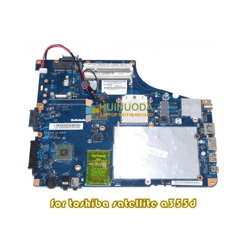 NOKOTION K000069570 KTKAE LA-4581P Per toshiba A350 A355D madre del computer portatile DDR2 CPU LiberoNOKOTION K000069570 KTKAE LA-4581P Per toshiba A350 A355D madre del computer portatile DDR2 CPU Libero