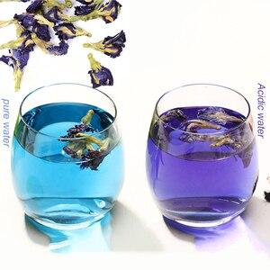 Simulation Kitchen Toy Thailand Blue Butterfly 50g 100g Clitoria Ternatea Thai Butterfly Pea Tea Vitamin A Toy
