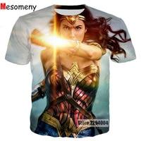 Mesomeny 2017 Harajuku Summer Fashion Men Women 3D T Shirt New Design Game Tomb Raider Print