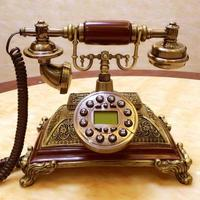 Villa idyllic telephone europ hands free Double bell classical hotel vintage telephone home fixed antique phone vintage wireless