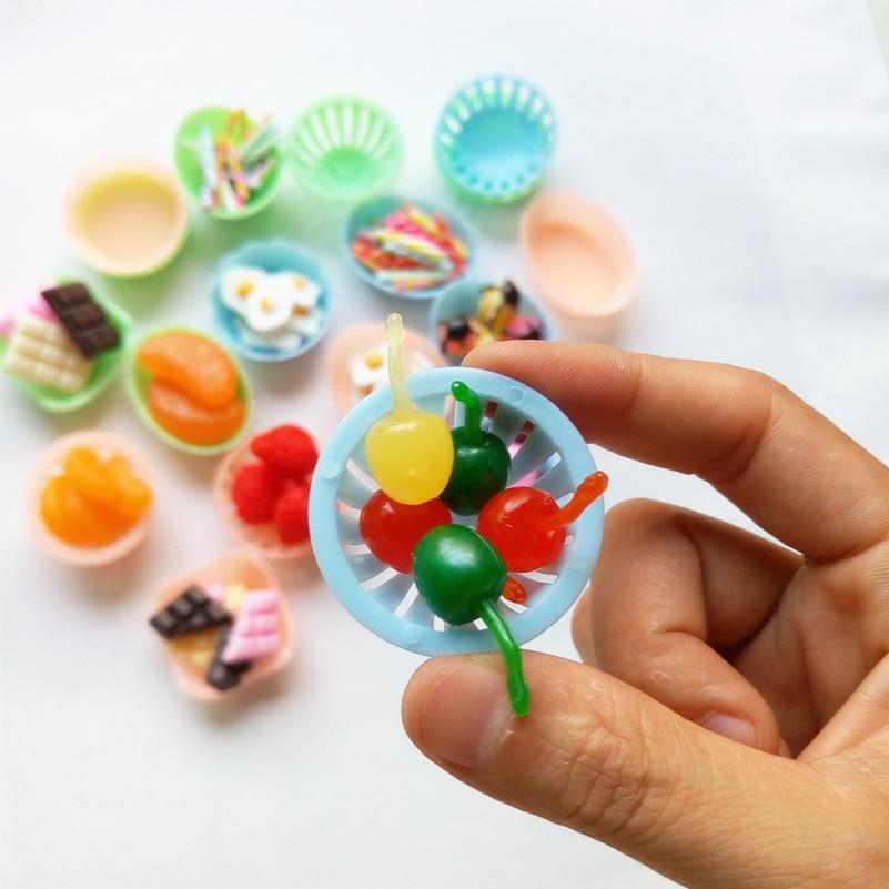 Kawaii PVC Fake Cherry Artificial Fruit Plastic Mini Cherry Simulation Food SE