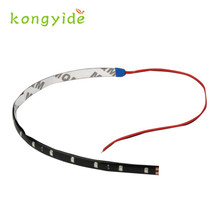 2017 Hot Sale 4pcs 30CM/15 LED Car  Truck Flexible Strip Light Waterproof 12V Wholesale  oct1