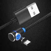 CatXaa 1m Ell Magnetic Black Cable Type C Micro Usb Magnet 2