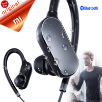 Original Xiaomi Mi Bluetooth Earphone Headset With Mic Sports Wireless Earbuds Bluetooth 4 1 Waterproof Xiaomi