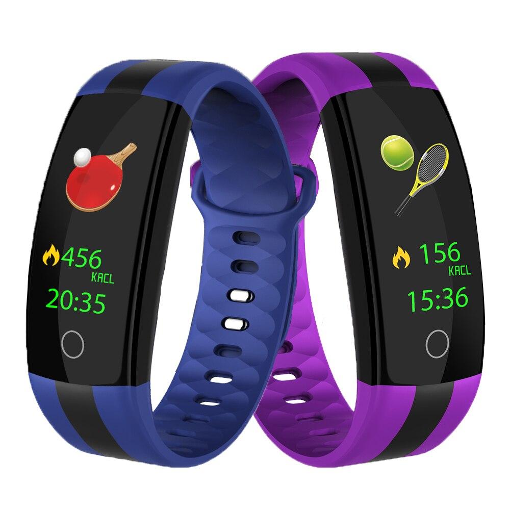 ZUCOOR Smart Armband Blutdruck Monitor RB73 Tragbare Kluge Band Smartband Pulseira Pulsometer Schrittzähler Pk Xio mi mi Band 3