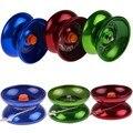 Venda quente rolamento de esferas yo yo yoyo versão atualizada da liga de alumínio do metal professional yo-yo auldey-yo brinquedo