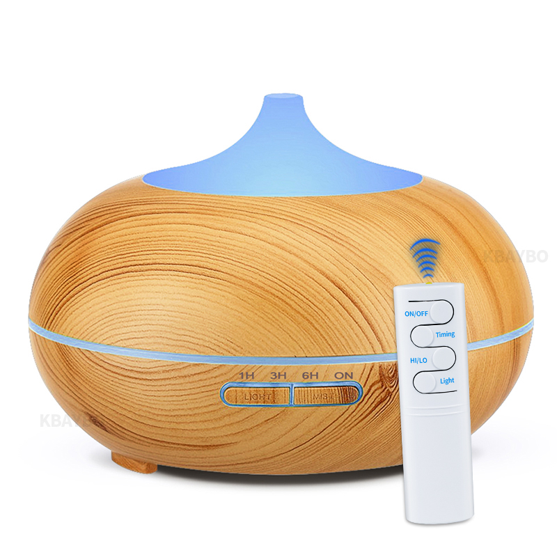 KBAYBO 500ml Essential Oil Aroma Diffuser Ultrasonic Air Humidifier Cool Mist Maker Aromatherapy Aircondition Fogger For Home