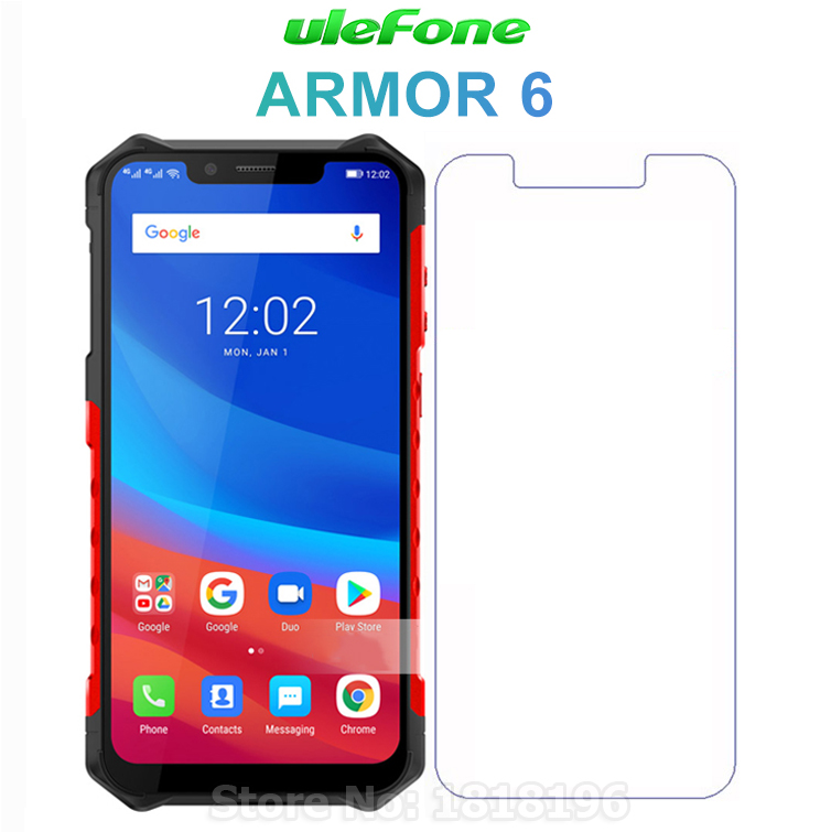 For Ulefone Armor 6 Tempered Glass Screen Protector 9H Safety Protective Mobile Phone Film For Ulefone Armor 6 Case Glass CoverFor Ulefone Armor 6 Tempered Glass Screen Protector 9H Safety Protective Mobile Phone Film For Ulefone Armor 6 Case Glass Cover