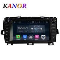 Octa Çekirdek Android 6.0 Araba DVD Multimedya Toyota Prius 2009 için 2010 2011 2012 2013 dash 1024*600 araba dvd gps navigasyon