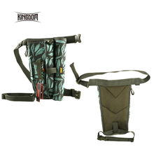 Kingdom Fishing Rod Leg Bags Tackle Bag Waterproof Nylon Large Capacity Multifunctional 339g 34x27x11cm BagLYB15