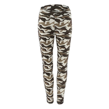 Women Fitness Camouflage Leggings Fashion Hip Push Up Elastic Workout Leggings Casual Slim fitness feminino Printing Legins