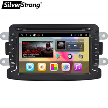 SilverStrong Android7.1 1Din KAPTUR Car DVD DACIA RENAULT DUSTER LOGAN II DOKKER Android Radio