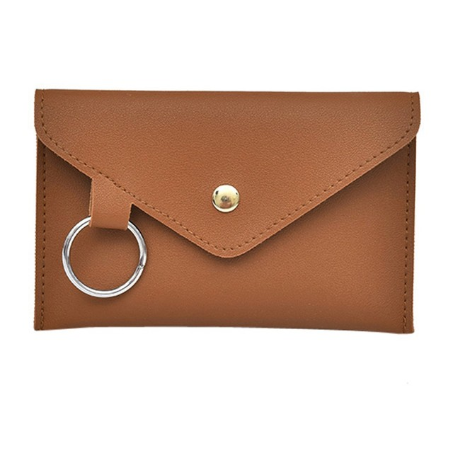 Fashion Belt Bag Women Pure Color Ring Leather waist Bag high quality Fanny Pack For Women