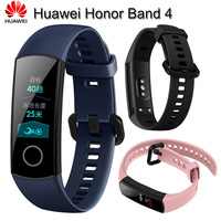 Huawei Honor Band 4 Smart Wristband Standard Version Amoled Color 0.95 Touchscreen Swim Posture Detect Heart Rate Sleep Running