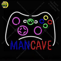 NEON SIGN For Man Cave Gamepad NEON Bulbs Sign Decor Handcraft Beer Game Room light up sign Business Neon lights for sale BRIGHT