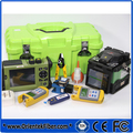 Promover T37 SV20A splicer da fusão + TR600 SM OTDR 1310/1550nm 32/30dB + OPM + OLS + VFL