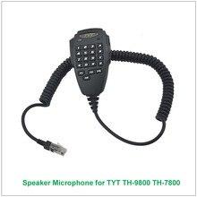 מקורי TYT 6 פינים צלילי מיקרופון רמקול כף יד TYT TH-9800 TH-7800 TH9800 TH7800 משדר חובבים נייד