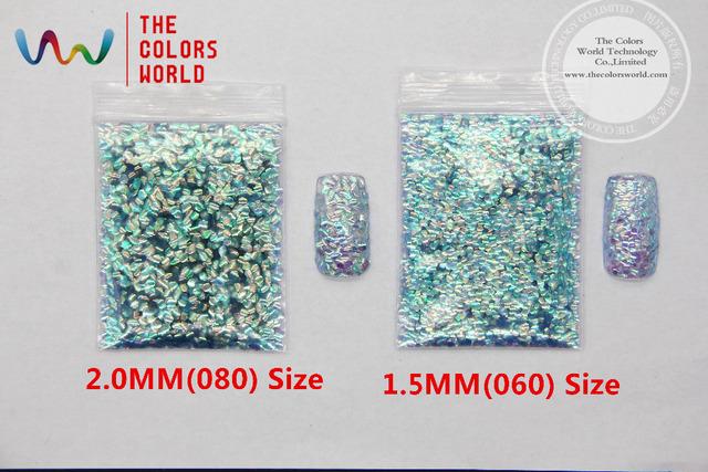 TCR513 Rizo de escamas de Pescado colores Iridiscentes copos de desplazamiento para uñas de arte de uñas de gel y la decoración de DIY