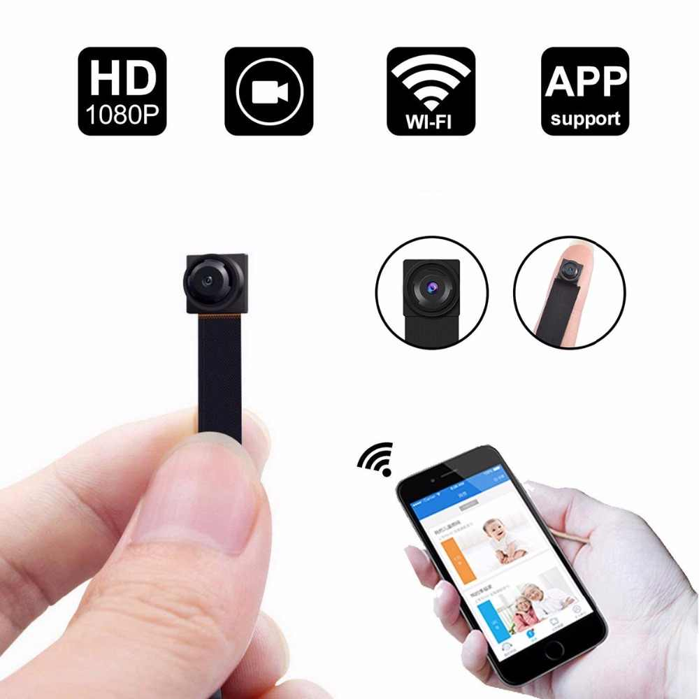 HD 1080P DIY Portable WiFi Mini Camera P2P Wireless Micro webcam Camcorder Video Recorder Support Remote View and Hidden TF card