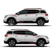 TAIYAO car styling sport car sticker For Citroen C5 AIRCROSS SPORT Mark Levinson car accessories and decals auto sticker taiyao car styling sport car sticker car accessories for peugeot 308s mark levinson car accessories and decals auto sticker