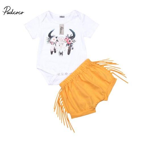 875fb8bcdfb71 Pudcoco-2018-Summer-Girls-Tassel-Pant-Sets-Newborn-Kids-Girls-Short-Sleeve- Bodysuit-Pants-Outfits-Baby.jpg