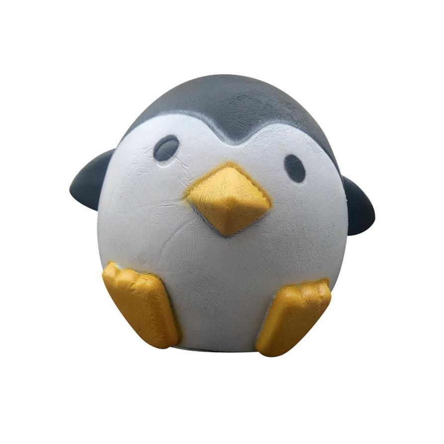 Bedste sælger drop skib Cute Penguin Squeeze Stretch Soft Slow Rising Restore Sjov Toy Gift