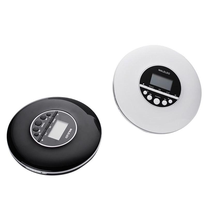 Lecteur CD Portable antichoc lecteur de disque Compact personnel avec casque Jack petits lecteurs de musique CD baladeur avec écran LCD