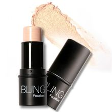 New Bling Highlighter stick All Over Shimmer Highlighting Powder Creamy Texture Waterproof Silver Golden Shimmer Light S9