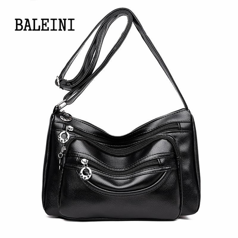 Honest Voless Women Composite Pvc Handbags Pu Leather Purse Fashion Girls 2019 Crossbody Bag Ladies Small Shoulder Bags Bolsa Feminina Shoulder Bags Luggage & Bags