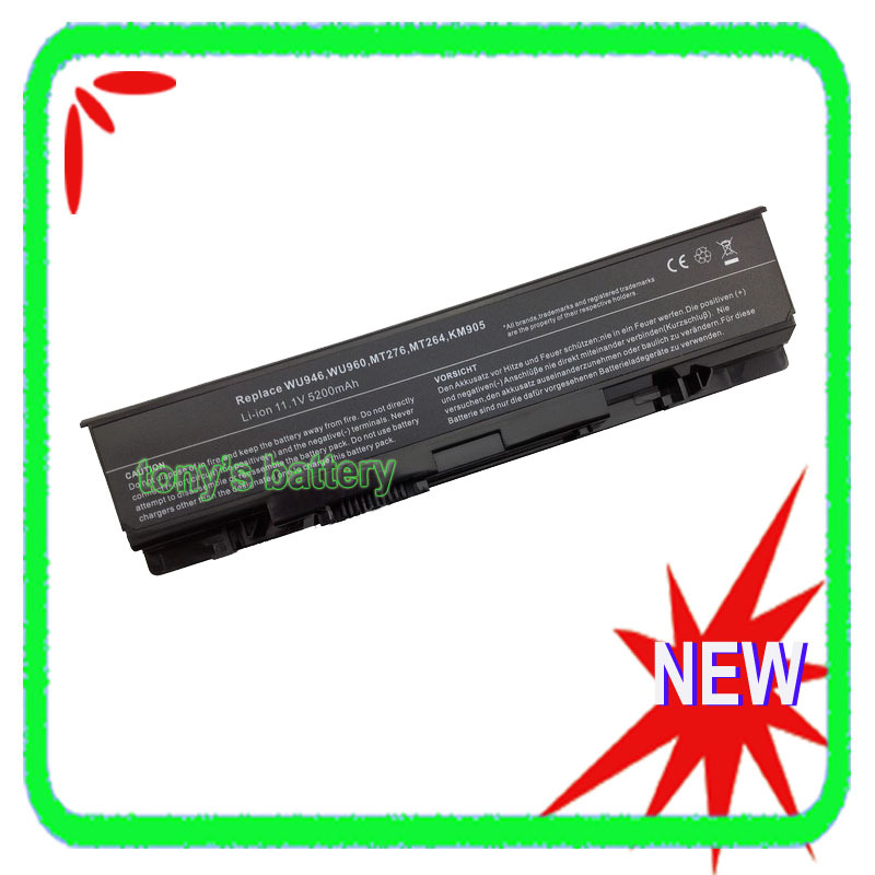 5200mAh Battery for <font><b>Dell</b></font> <font><b>Studio</b></font> <font><b>1535</b></font> 1536 1537 1555 1557 1558 PP39L MT264 MT276 KM904 WU946 WU960 KM958 image