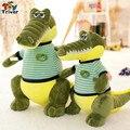 Creativo simulación de la historieta del cocodrilo de peluche de felpa muñeca juguetes para niños baby boy friend regalo de navidad de cumpleaños envío gratis Triver