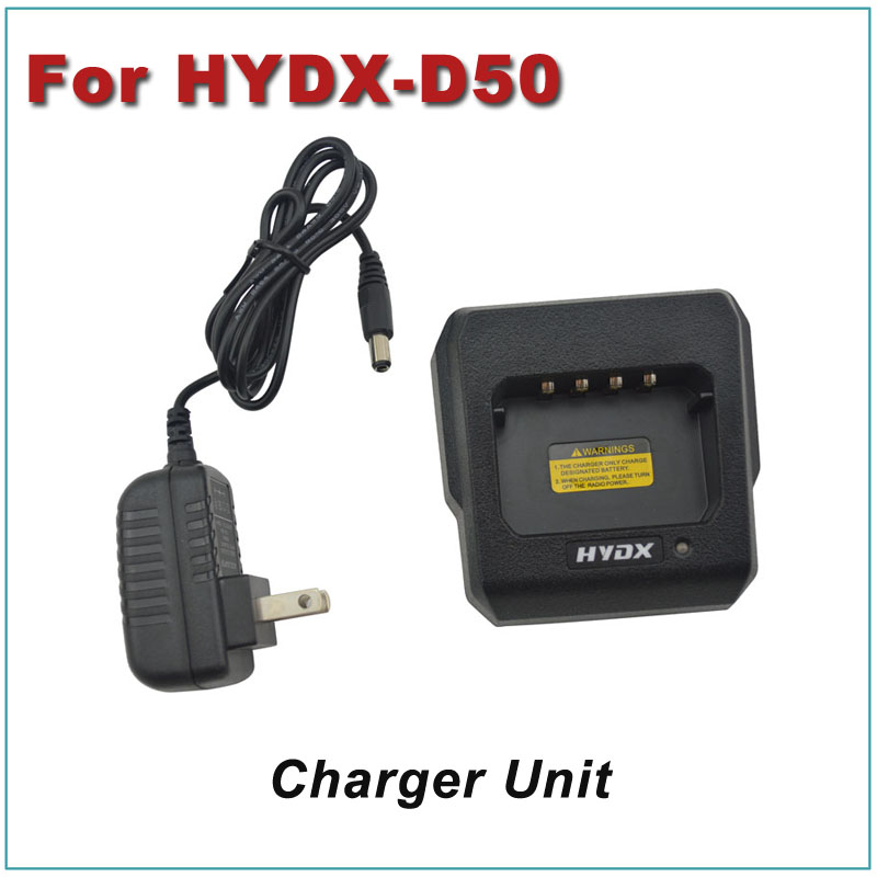 Charger Unit Desktop Charger W/ Wall AC Adapter For HYDX Portable DMR Digital Two-way Radio HYDX-D50