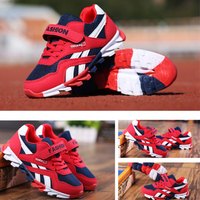 qloblo Fashion Sneakers Boys Sports Shoes Running Brand Outdoor Trainers Kids Sneakers Girls Breathable Jogging Children Shoes