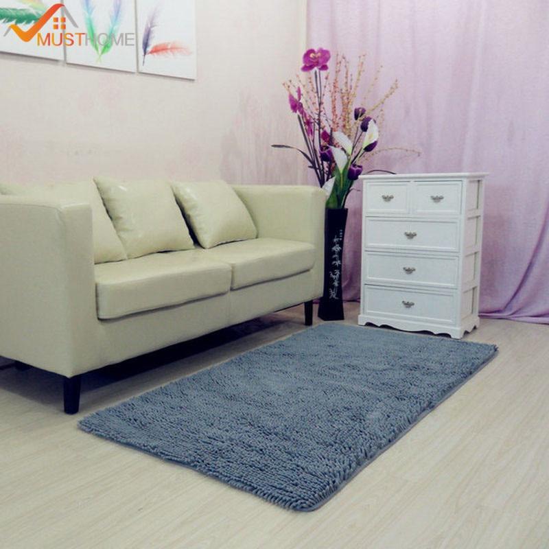70x140cm/28x55 Chenille Microfiber Living Room Carpet Rugs Machine ...