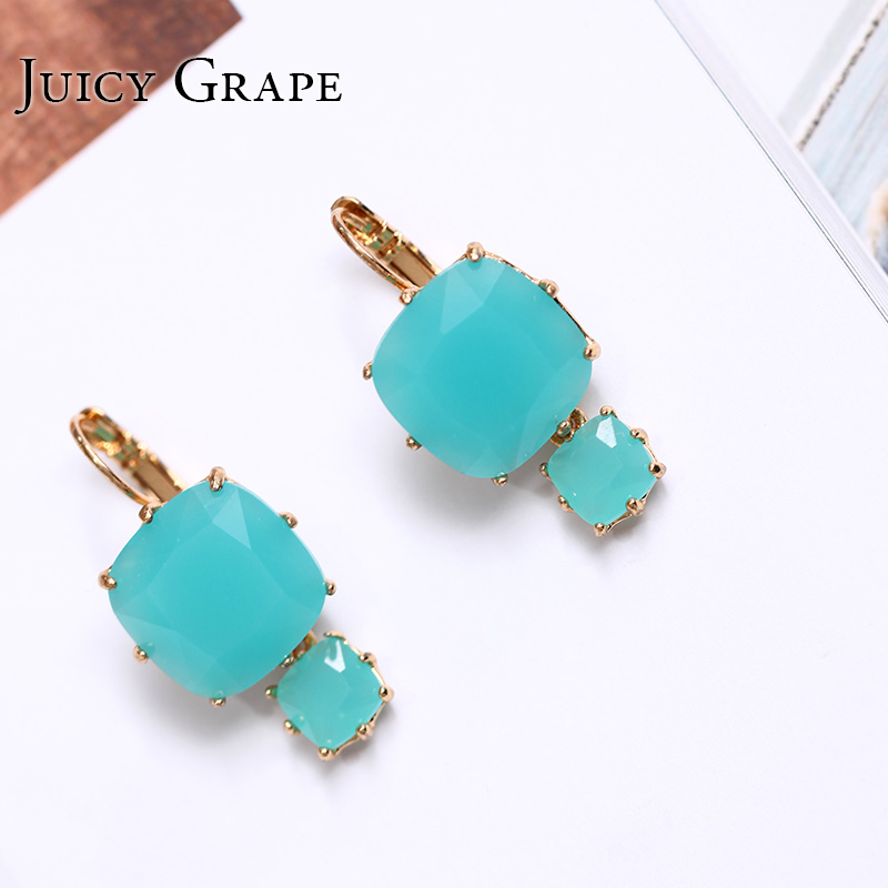 Gorgeous Palace Series Crystal Earrings And Push Back Earring For Women brincos 2017 Fashion Trendy Animale Jewellery