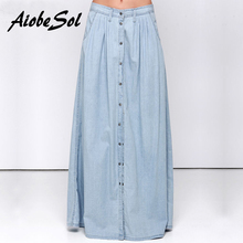 Denim maxi skirt online shopping-the world largest denim maxi ...