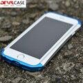 Segunda geração do tipo x quadro bumper para iphone 6 devilcase 6 s New Anti-Knock Invólucro 2016 Aluminum + Plastic Híbrido Cor ª