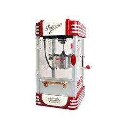 220V nowy Popcorn maszyna handlowa automatyczne ręcznie łukowaty Mini dla małych dzieci maszyna do robienia popcornu piłka typu gospodarstwa domowego maszyna do worków