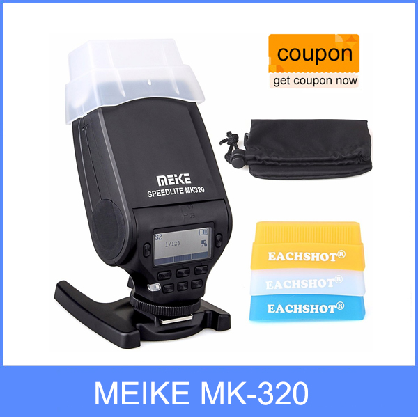 MEIKE MK-320 for Panasonic TTL Flash Speedlite for Panasonic Lumix DMC GF7 GM5 GH4 GM1 GX7 G6 GF6 GH3 G5 GF5 GX1 GF3 G3 аккумуляторы для цифровых фото и видео камер look dmw bld10gk bld10e lumix gf2 gx1 dmc g3