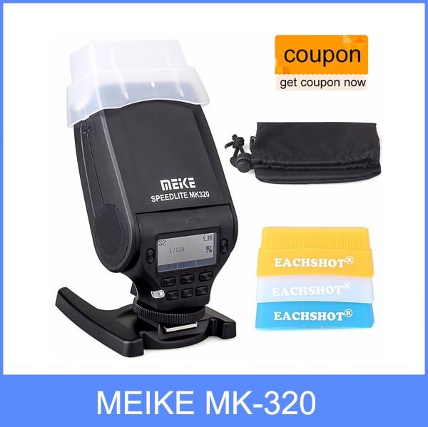 Prix pour MEIKE MK-320 pour Panasonic TTL Flash Speedlite pour Panasonic Lumix DMC GF7 GM5 GH4 GM1 GX7 G6 GF6 GH3 G5 GF5 GX1 GF3 G3