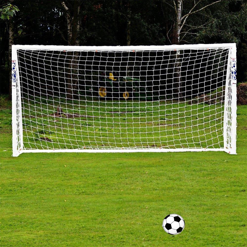 Full Size 6 x 4FT Football Soccer Goal Post Net 1.8m x 1.2m Sports Match  Training Junior Polypropylene Fiber Just Football Net-in Soccers from  Sports ... a9021af7577a